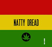 Natty Dread Rasta Design by artchastudio