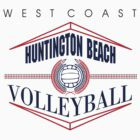 Huntington Beach California Volleyball by SportsT-Shirts