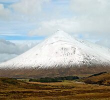 Ben Dorain Glencoe Scotland by M.S. Photography & Art