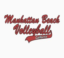 Manhatten Beach California Volleyball by SportsT-Shirts
