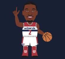 NBAToon of John Wall, player of Washington Wizards by D4RK0