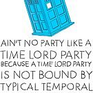 Time Lord Party by Look Human