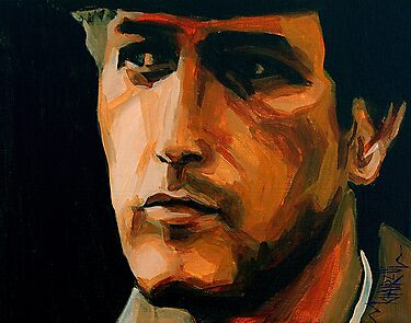 Paul - Paul Newman Portrait by Khairzul MG