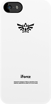 Zelda Tri-Force Logo (White Apple Icon Replacement)  by huckblade