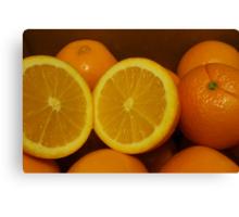 Open Orange Canvas Print