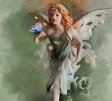 The Fairy and the butterfly by PhotosByHealy
