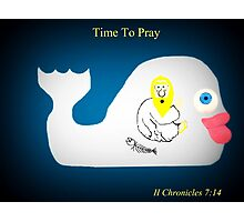 Time To Pray Photographic Print