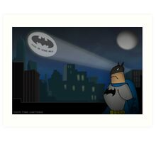 Don't forget the Batphone Art Print