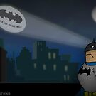 Don't forget the Batphone by ToneCartoons