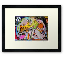 the perfect moment Framed Print