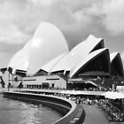 Sydney Opera House in Black & White by EKingPhotoArt