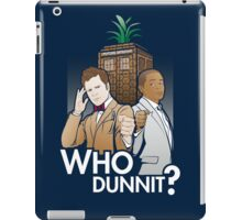 Who Dunnit? iPad Case/Skin