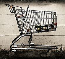 Abandoned Shopping Cart #1 by Dave Ingram