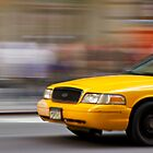 Yellow Cab by ArtLandscape