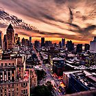 New York Sky by ArtLandscape