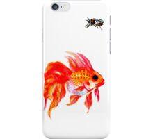 goldfish and cicada iPhone case iPhone Case/Skin