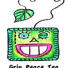 """Grin Peace Tea"" by janinej9"