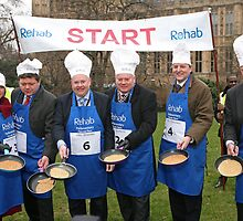 Parliamentary Pancake Race 2013 by Keith Larby