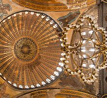 inside the Hagia Sophia by Kirk D. Belmont Photography