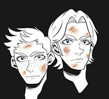 Psycho Brothers by hellredsky