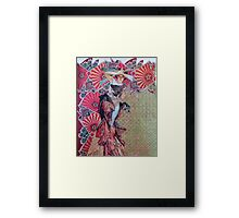 Watch The Light Framed Print