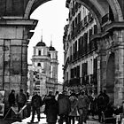 Arched entrance Plaza Mayor - Madrid by marcopuch