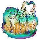 Three Brothers by Anna Miarczynska