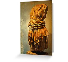 Roman Sculpture, Palatine Hill Greeting Card