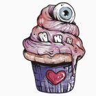Eyeball Cupcake by Ella Mobbs