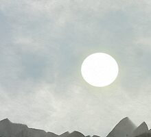 Mountain and Moon 2 by suewen