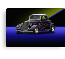 1934 Ford 3-Window Coupe Canvas Print