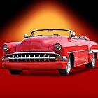 1954 Chevrolet Custom Bel Air Convertible by DaveKoontz