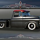 1956 Chevrolet Low-Rider Pick-Up by DaveKoontz