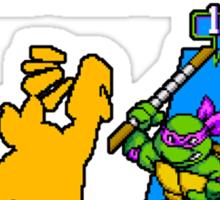 Turtles in Time - Donatello Sticker