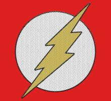 Knitted flash logo by erndub