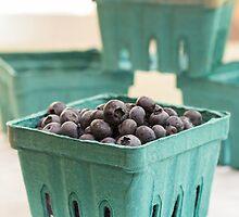 Fresh Blueberries by Edward Fielding