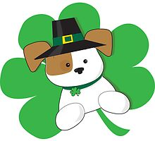 Irish Puppy by Maria Bell