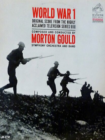 World War 1, WWI, TV Series Soundtrack album cover by Vintaged