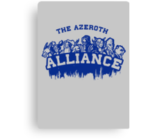 Team Alliance Canvas Print