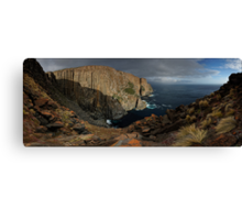 Cape Raoul Out Wide Canvas Print
