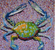 Blue Swimmer 1 by Neil Goodridge