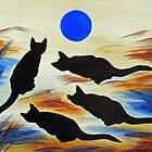 The Meows and Blue by Susan Greenwood Lindsay