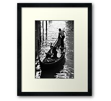 Water Carriage Framed Print