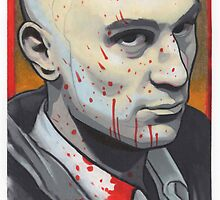 travis bickle portrait. by resonanteye
