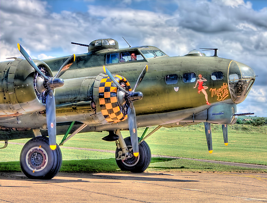 Sally B - A Flying Legend - HDR by Colin J Williams Photography