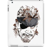 Big Boss iPad Case/Skin