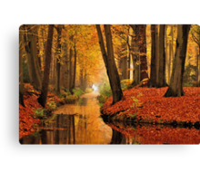 Remembering autumnal dreamland Canvas Print