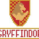 8 Bit Gryffindor by Look Human
