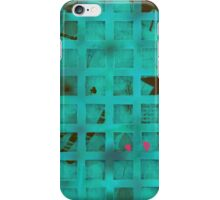 Turquoise lights in my bedroom iPhone Case/Skin