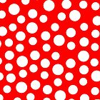 Polka dots Red Iphone and Ipod Cases  by Clickcreations